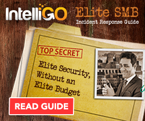 Top Secret Folder with the Elite SMB Incident Response Guide