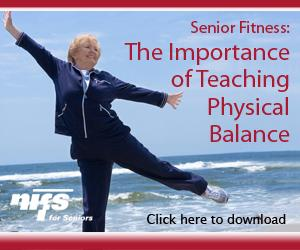 Senior Fitness, teaching balance