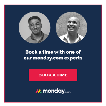 Book a time with one of our Monday.com experts