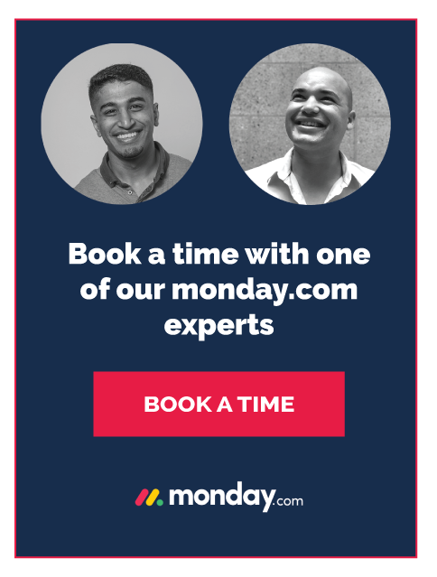 Book a time with a monday.com expert at H&D