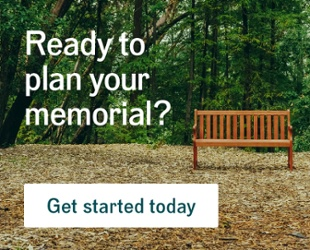 Ready to plan your memorial? Get started today.