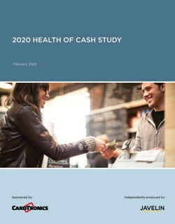 2020 Health of Cash Study Cover