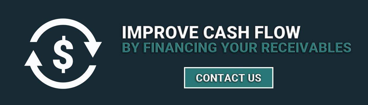 improve cash flow by financing your receivables