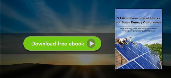 Download the SPOTIO Solar Lead Hack Ebook