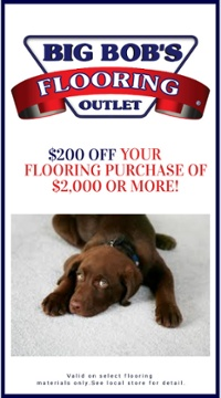 Big Bobs Flooring Outlet New Flooring DIscount