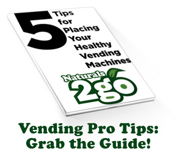 Free Resource - Tips for Placing Vending Machines