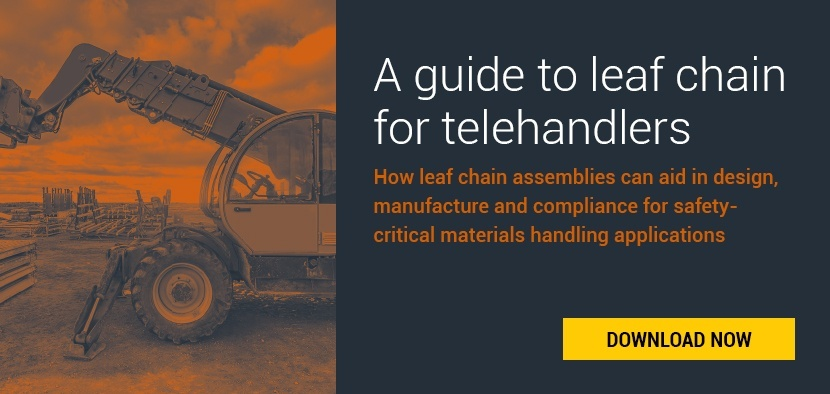 leaf chain for telehandlers