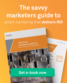 The savvy marketers guide to smart marketing that delivers ROI