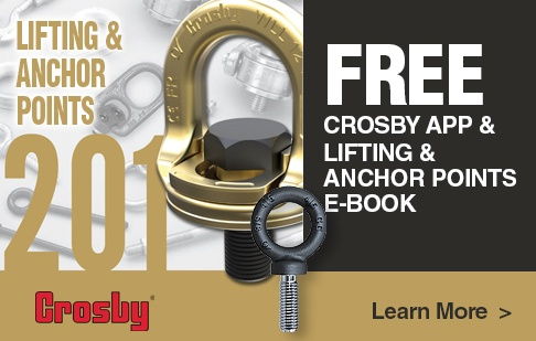 Free Crosby App & Lifting & Anchor Points E-book