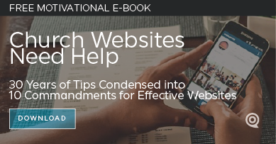 10 Commandments for Church Websites