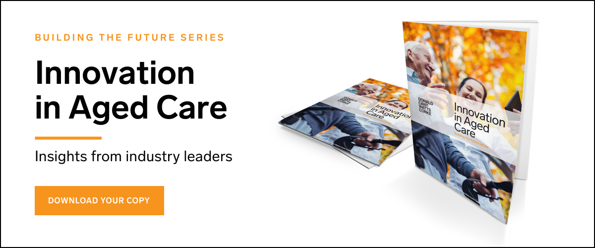Innovation in Aged Care