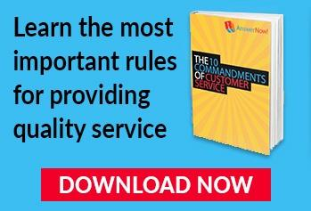 Download the 10 commandments of customer service