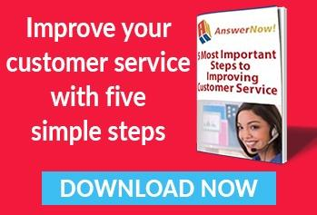 The 5 most important steps to improving customer service.