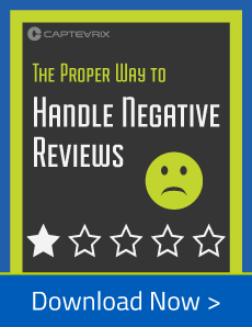 Free Guide - The proper way to handle negative reviews