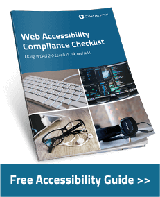 Web Accessibility Compliance Checklist - Free Guide