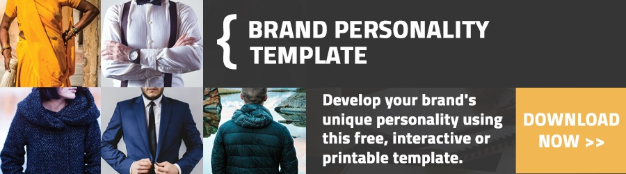 Develop Your Brand's Unique Personality Using This Free Interactive Template
