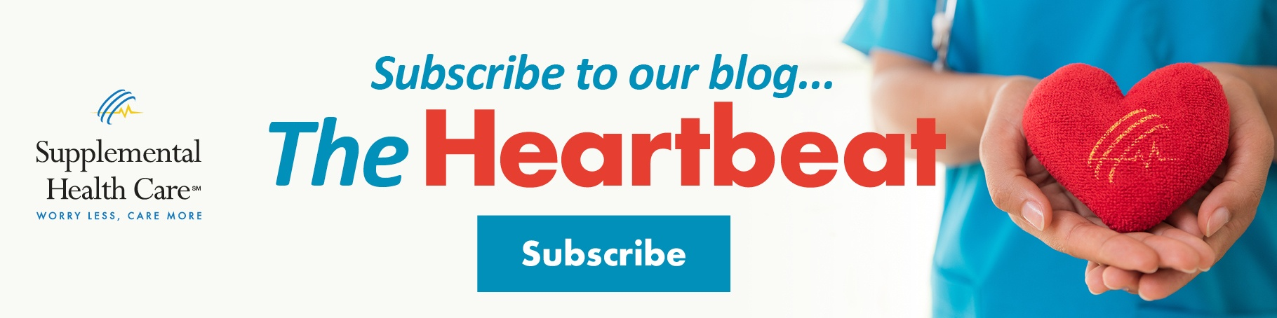 Subscribe to Blog Heart Hands