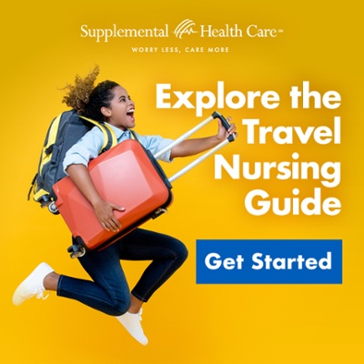travel nursing guide suitcase get started