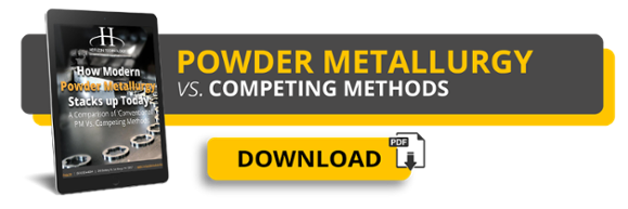 Powder Metallurgy vs. Competing Methods