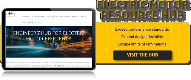 Engineers' Hub for Electric Motor Efficiency - Click Here