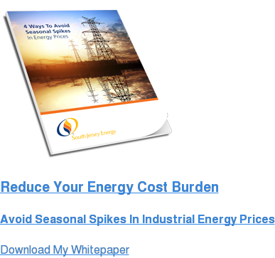 Reduce Your Energy Cost Burden  Avoid Seasonal Spikes In Industrial Energy Prices Download My Whitepaper