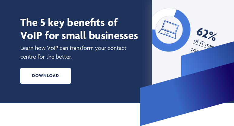 The 5 key benefits of VoIP for small businesses