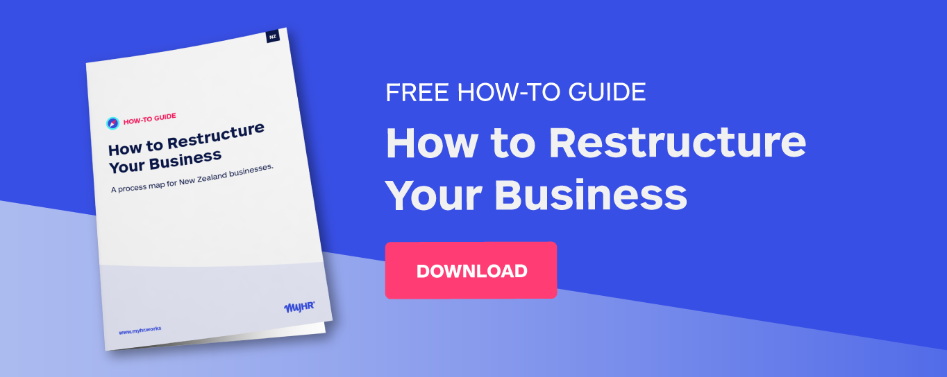 Free how-to guide: how to restructure your business
