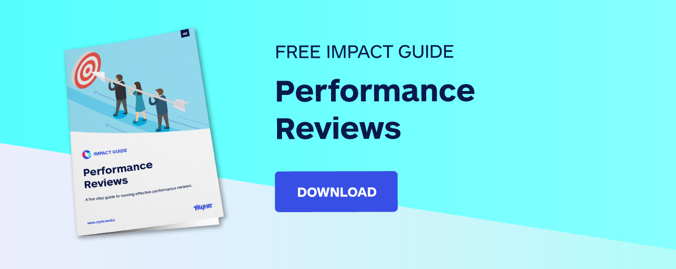 Free impact guide: Performance reviews