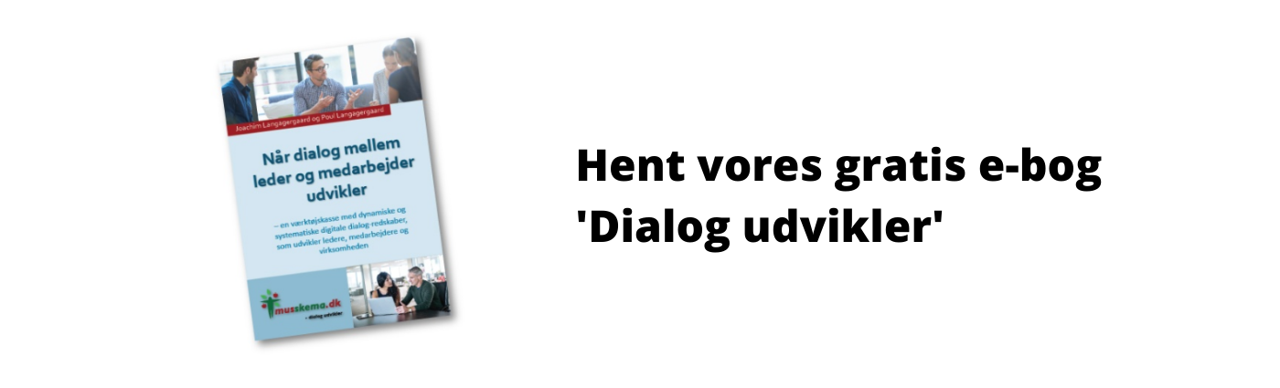 Læs hvordan dialog udvikler i vores gratis E-bog