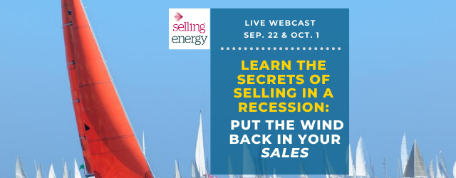 Learn how to sell in a recession
