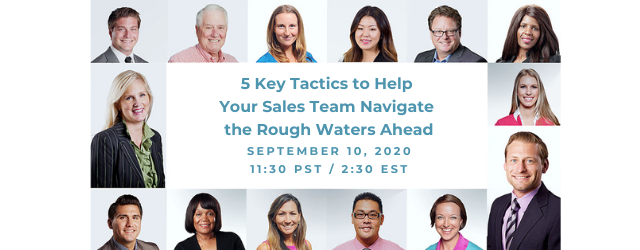 Help your sales team navigate the rough waters ahead