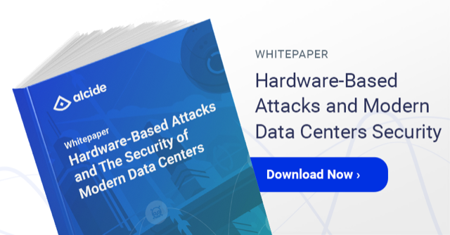 Hardware based attacks and data center security