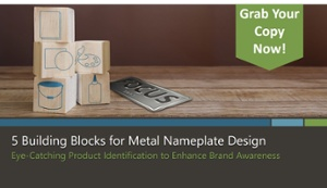 5 Building Blocks for Metal Nameplate Design eBook by McLoone
