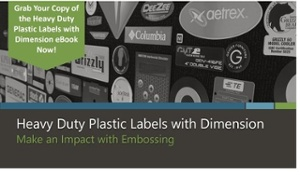 Options in embossing on plastic labels and overlays ebook by McLoone