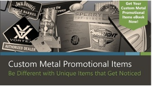 custom metal promotional items - learn more in this ebook from McLoone