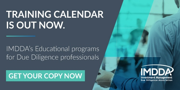 Download IMDDA's Due Diligence Class Calendar