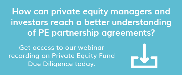 Access our webinar recording on Private Equity Partnership Agreements