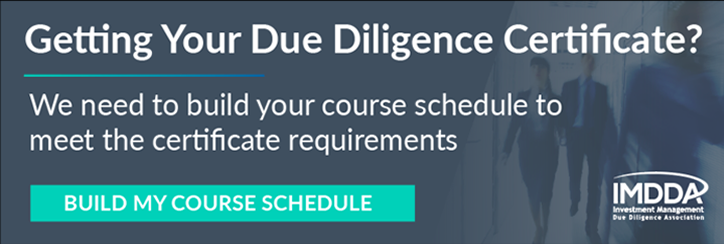 Get your Due Diligence Certificate
