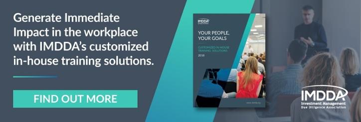 Download IMDDA's In-House Training Brochure