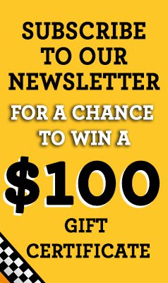 Subscribe To Our Newsletter For a Chance To Win a $100 Coupon