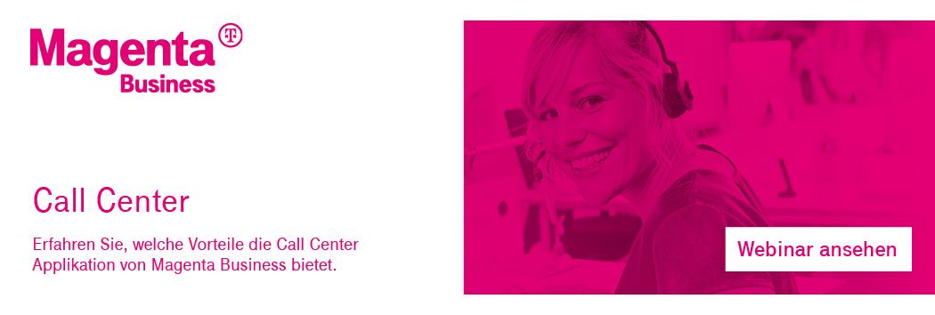 Webinar Aufzeichnung Call Center