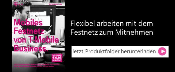 Produktfolder Mobiles Festnetz