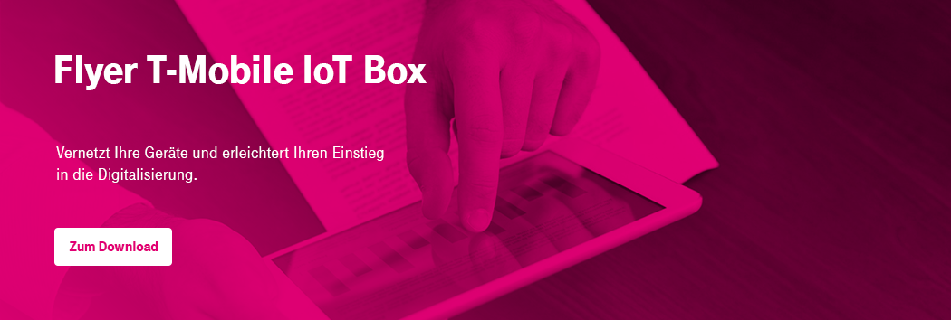 Flyer IoT Box T-Mobile