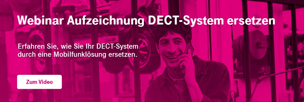 Webinar DECT-System