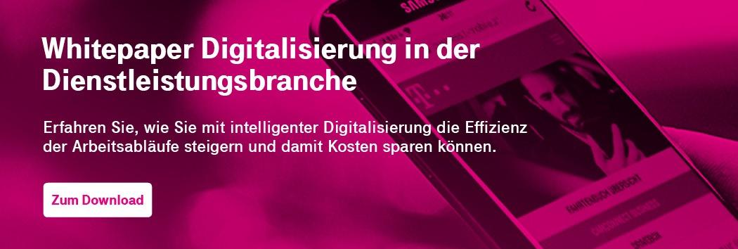 Whitepaper Digitalisierung Dienstleistungsbranche