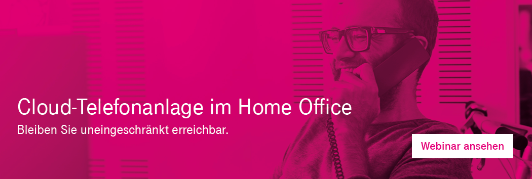 Cloud Telefonanlage im Home Office