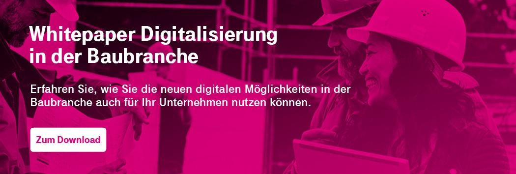 Whitepaper Digitalisierung Baubranche