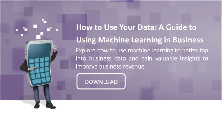 using machine learning in business - download guide
