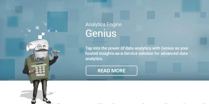 Learn more about our Insights-as-a-Service analytics engine, Genius.