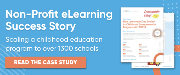 Read the Non-Profit eLearning Success Story